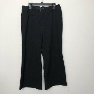 Lane Bryant Pants & Jumpsuits - Lane Bryant Red Triangle Size 1 Petite Black Pants